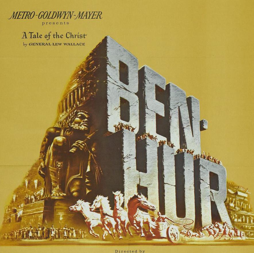Ben Hur é um dos principais filmes já produzidos