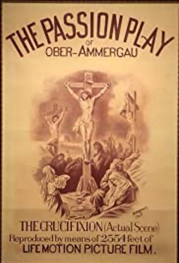 Cartaz do filme The Passion Play of Ober-Ammergau