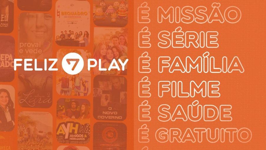 Feliz7Play é uma plataforma de streaming com conteúdos educativos e cristãos